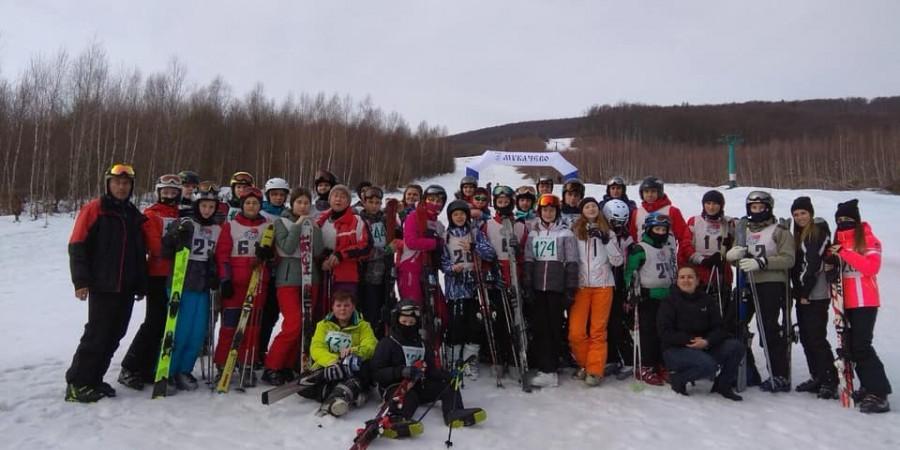 Визначено переможців фінальних змагань зі слалому серед школярів Мукачева