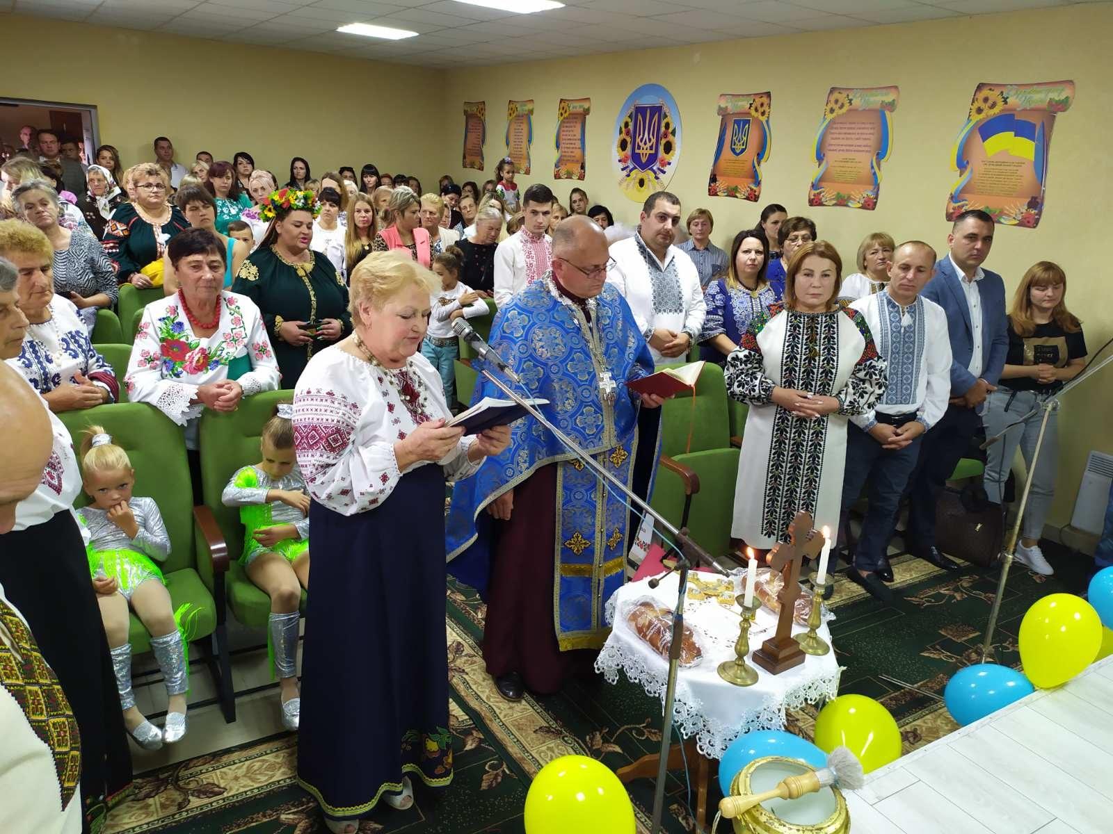 Знакова подія для нашої громади - відкриття Народного дому в селі Жорниська