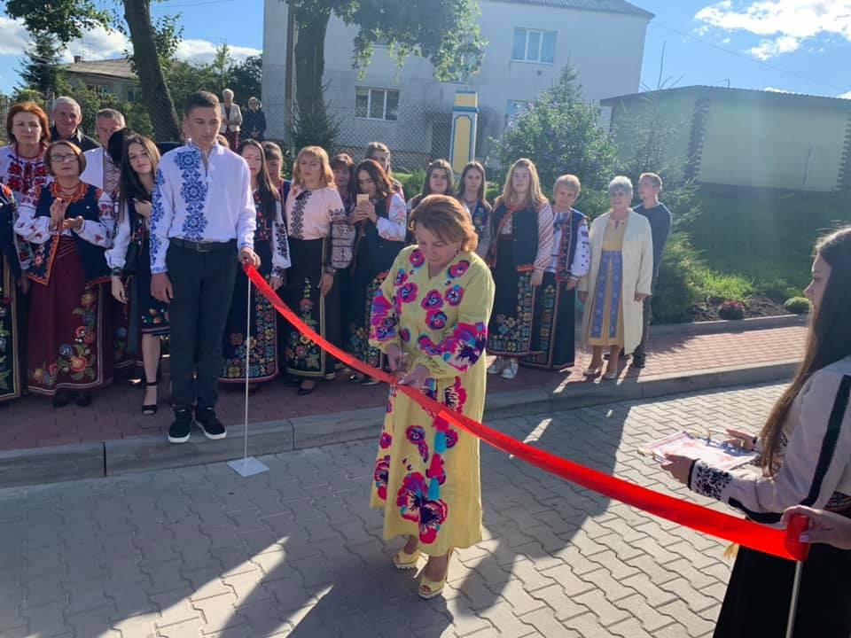 Відкриття дороги у селі Вороців та святкування 30-ліття хору
