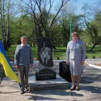 Памятник героям Чорнобиля