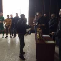 Кращий воротар турніру Владислав Остапенко (