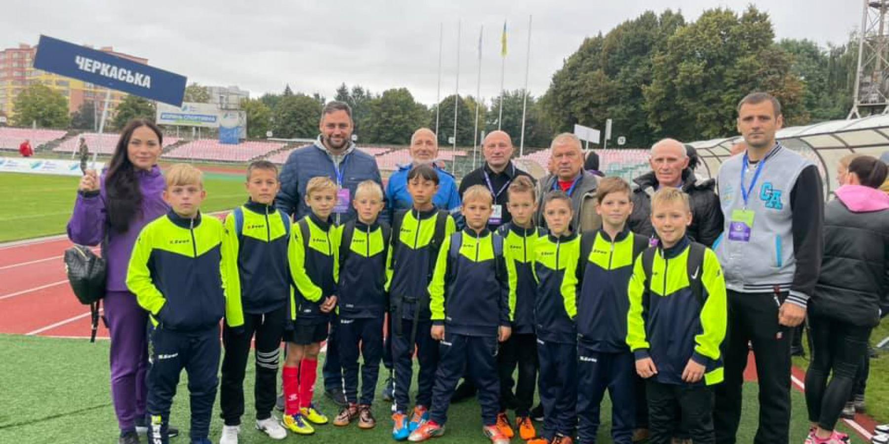 Команда Катеринопільської ДЮСШ представляла Черкаську область на Всеукраїнському турнірі