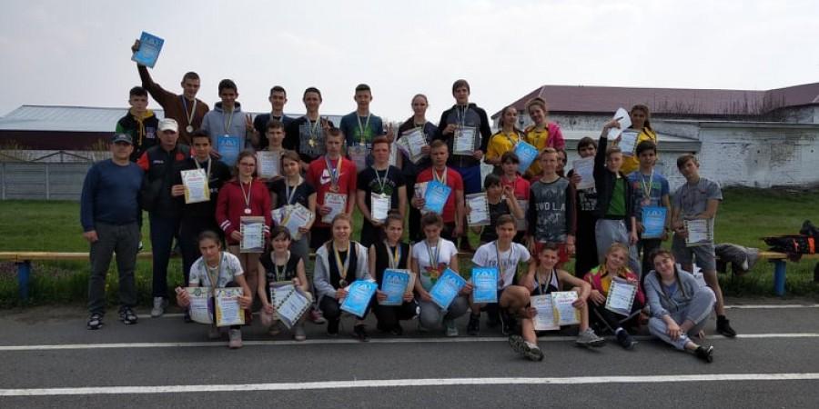 Відкрита Першість Канівської районної ДЮСШ «Колос» з легкої атлетики серед юнаків та дівчат