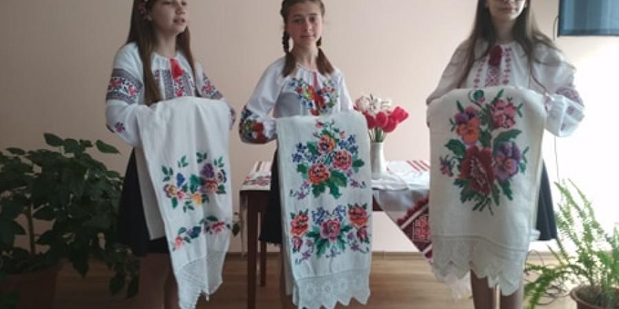 Свято вишиванки в Таганчанській ЗОШ