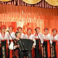 Музичний дарунок  від лауреатів Всеукраїнського конкурсу «Червона калина» вокального колективу «Берегиня»