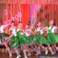 """Запальний танець  «Кукарела» дарує танцювальний колектив    """"Дніпряночка"""" (1)"""