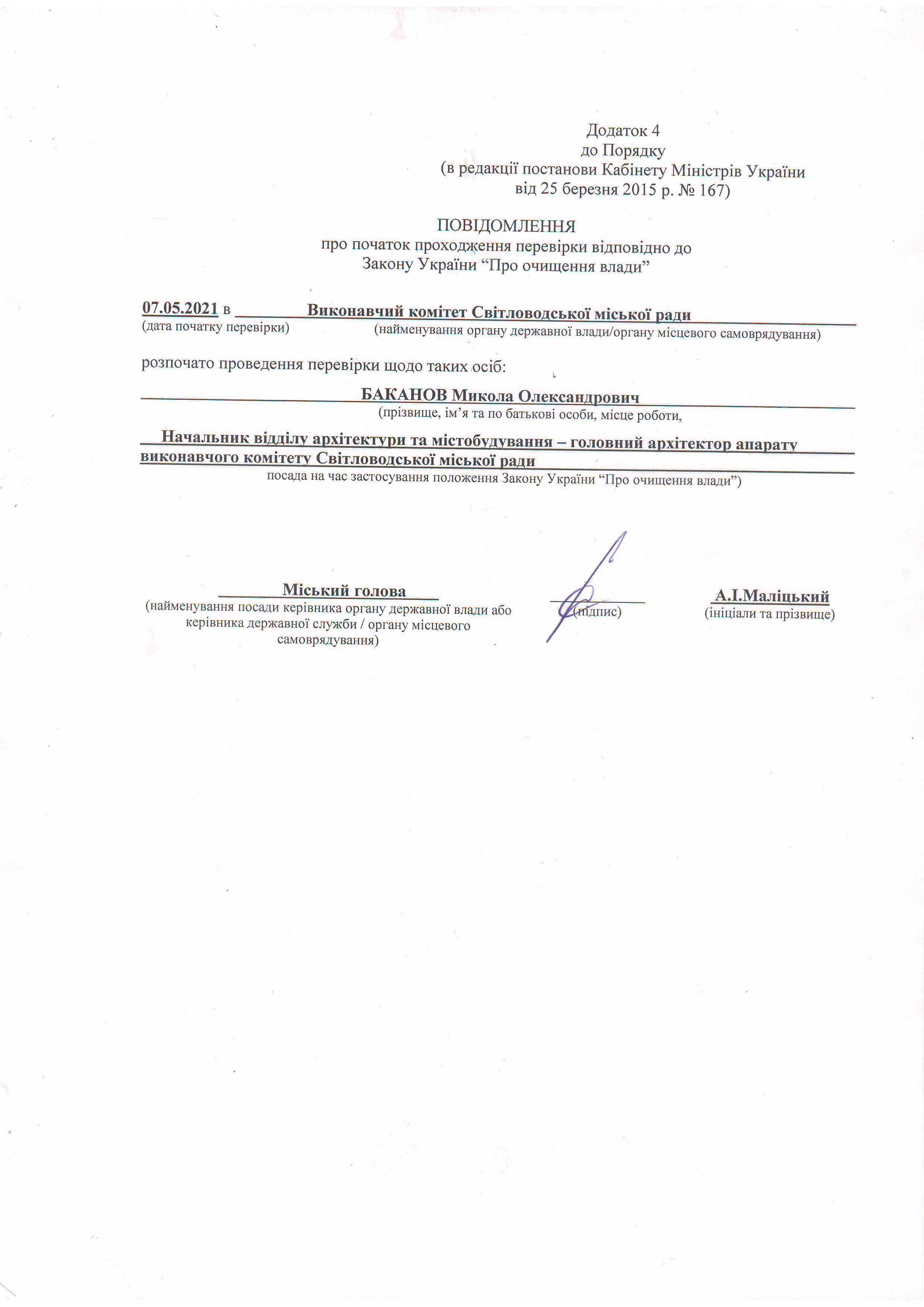 Результати перевірки Баканов М.О.