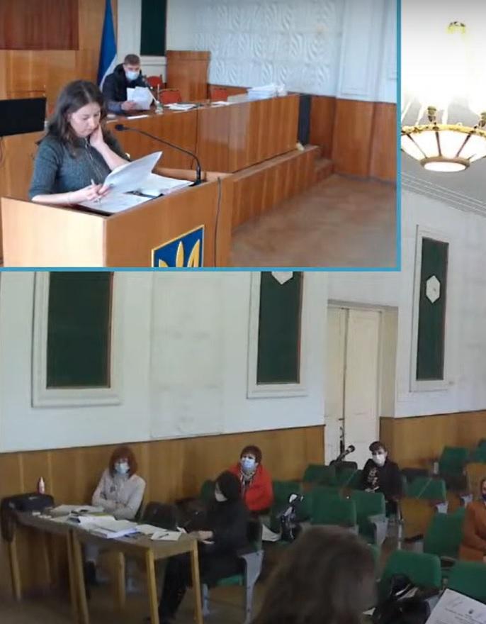 Засідання 12-ї сесії Світловодської міської ради