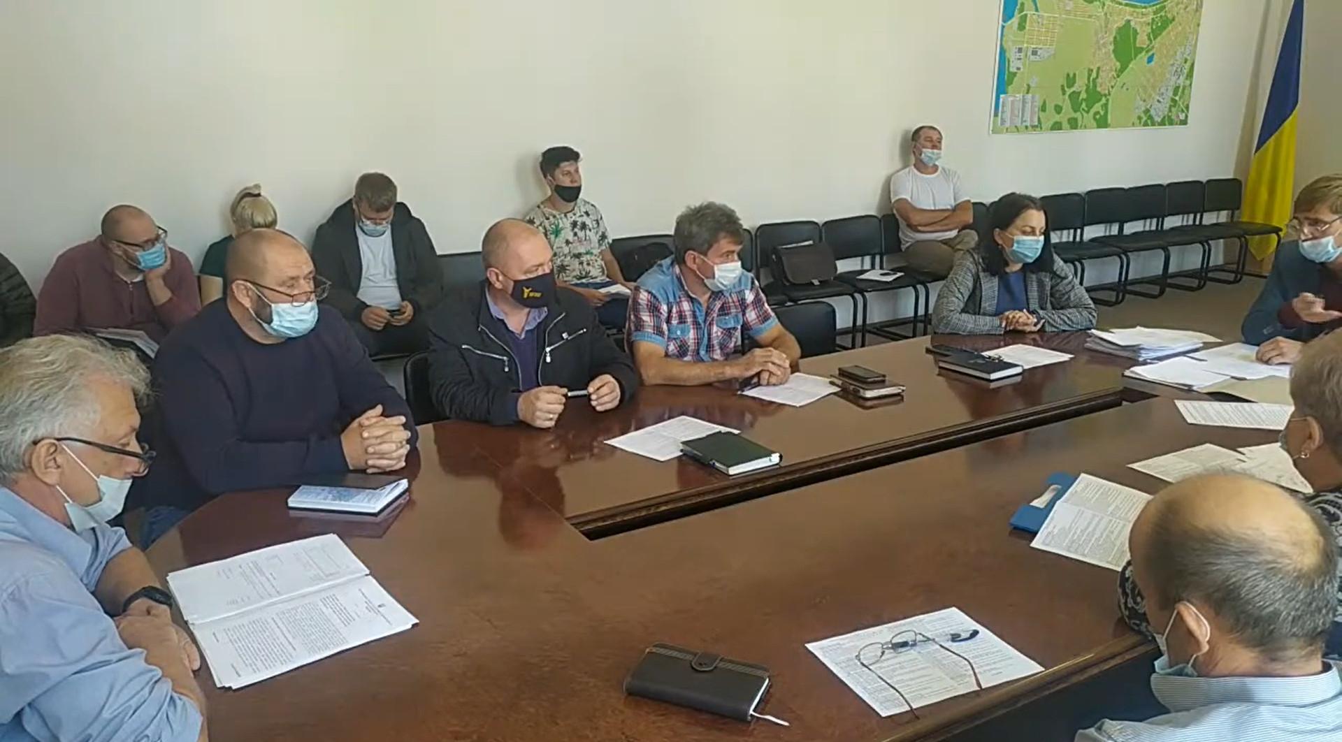 Виконавчий комітет Світловодської міської ради 10.09.21