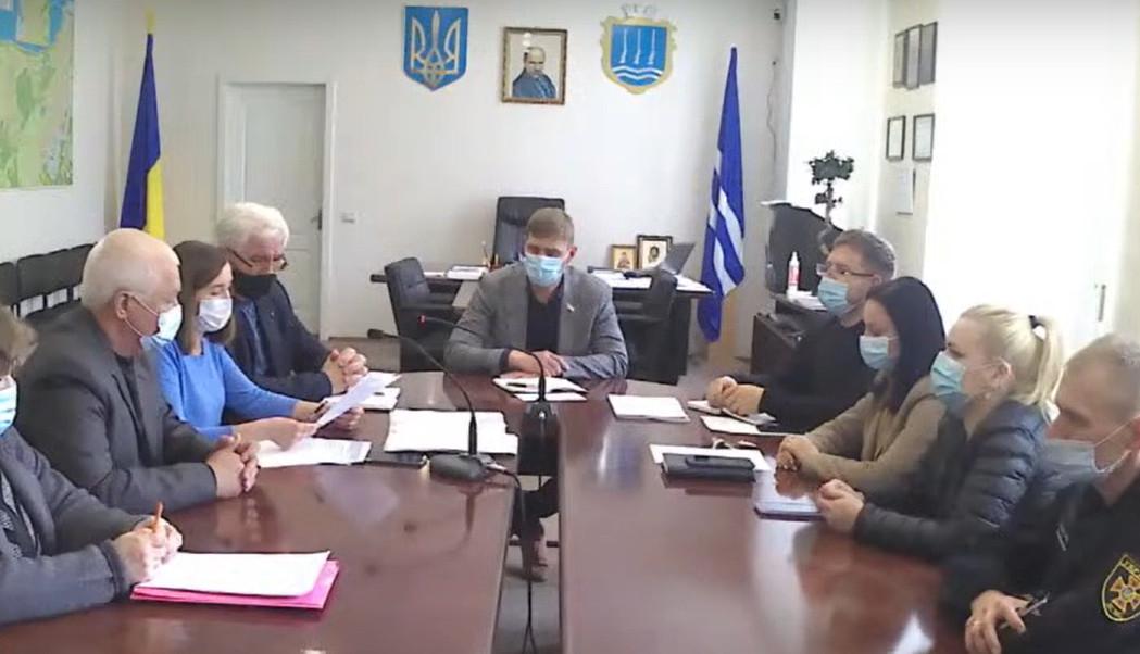 Засідання оперативного штабу з питань ТЕБ та НС №16
