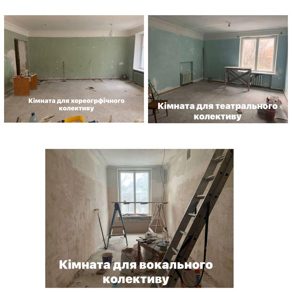 Покращення матеріально-технічної бази Світловодського міського Палацу культури за період локдауну 2021р.