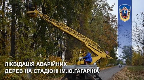 #жашківська_громада #благоустрій #аварійні_дерева #стадіон