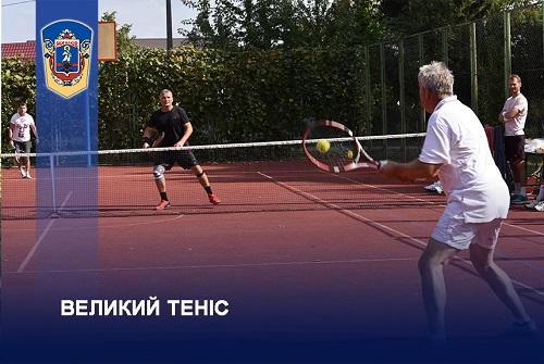 Жашківська ОТГ, великий теніс, Жашків, змагання, спорт
