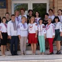 Колектив та керівники закладів відділу освіти Жашківської міської ради