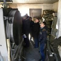 Вивчення робочою групою проблеми опалення Скибинського ЗЗСО (лютий 2018)