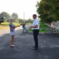 Капітальний ремонт дороги та будівництво тротуару до Жашківського ЗЗСО №2