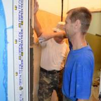 Реконструкція роздягалень у Жашківській спеціалізованій школі №1