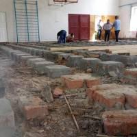 Ремонт підлоги у спортивній залі Жашківського ЗЗСО №2