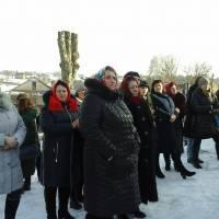 Сільська громада на святкуванні