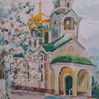 Храм  Святого  Воскресіння (живопис)
