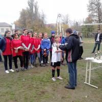 Нагородження міні-футбол дівчата
