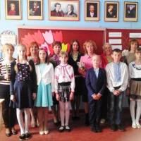 Відзначення  свята  у Цеценівському   НВК