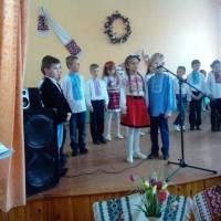 Відзначення  свята  у  В.Дедеркальській  ЗОШ  І - ІІІ ступенів