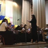 Народний оркестр народних інструментів викладачів Свалявської ДШМ, кер. Світлана Фізер