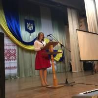 Сільвія Ладані, ведуча, випускниця Свалявської гімназії