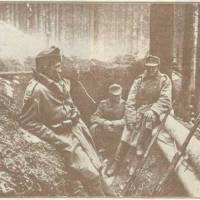 окопи на горі Маківка 1915 р.