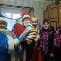 Новорічні вітання мителів села Миляч та Лугове