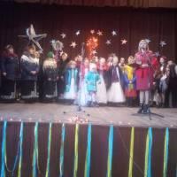 Удрицький СБК- спільно коляда всіх учасників Різдвяного фестивалю.