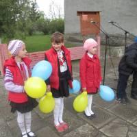 Підняття Прапора України і ЄС. 11.05.2017 р. с. Миляч.