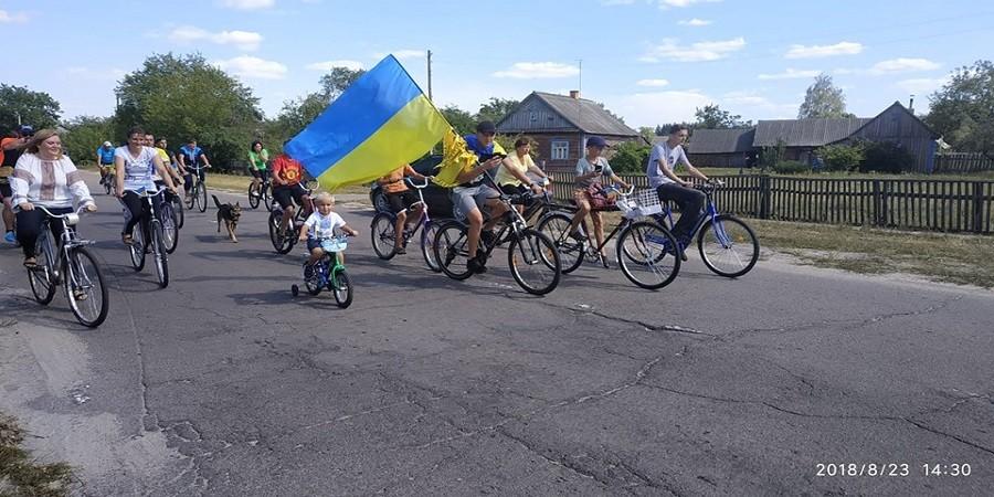 Патріотичний велопробіг 23 серпня
