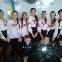 День Гідності й Свободи у Карасинській ЗОШ І-ІІ ступенів