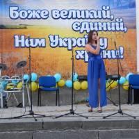 Вокалістка Клесівського МБК Катерина Тушич