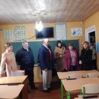 У навчальному кабінеті ЗОШ І ст с.Рудня-Карпилівська
