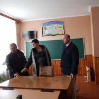 Один із навчальних кабінетів школи с.Карасин