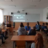 Демонстрація фільмів у Клесівській ЗОШ І-ІІ ст-ліцею