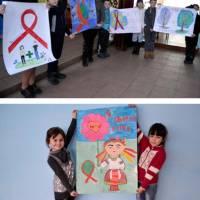 Конкурс малюнків та плакатів «СНІДу-НІ!» (Клесівська ЗОШ І-ІІ ступенів)