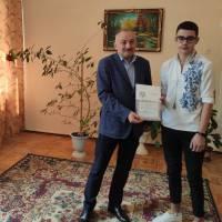Нагородження Войцеховського Владислава