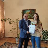 Нагородження Тюбай Анастасії