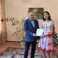 Нагородження Писар Ірини