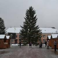 Відкриття новорічної ялинки в м. Тячів