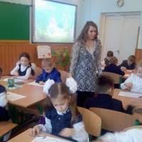 Першокласники з задоволенням виконують завдання