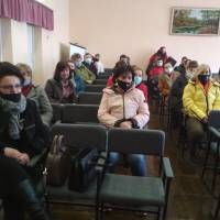 Зустріч з колективом Шумського НВК