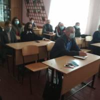 Зустріч з колективом Шумського ліцею