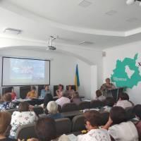 Виступ заступника директора з НВР Биковецького НВК Безух О.І.