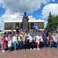 Учні Шумського НВК під час екскурсії у м.Луцьк. 2JPG