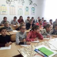 Всеукраїнський диктант єдності в Угорському НВК